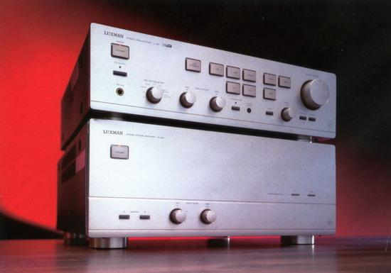 Luxman m-363 poweramp